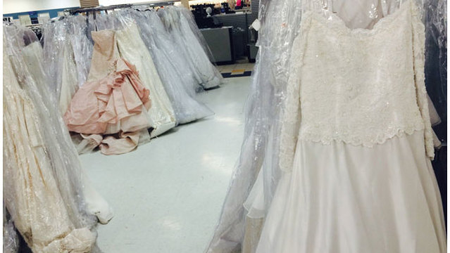 Rivergate Goodwill store hosts wedding, prom dress sale