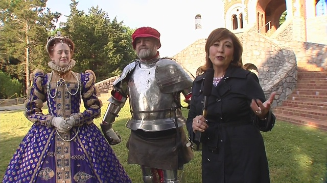 Tennessee Renaissance Festival: Queen Elizabeth and Sir Howard Thomas