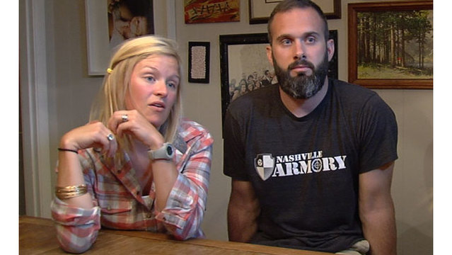 Couple: Accused robber broke into Nashville home on Monday