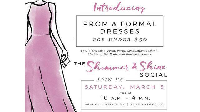 YWCA women\'s resale boutique offers prom dresses for under $50