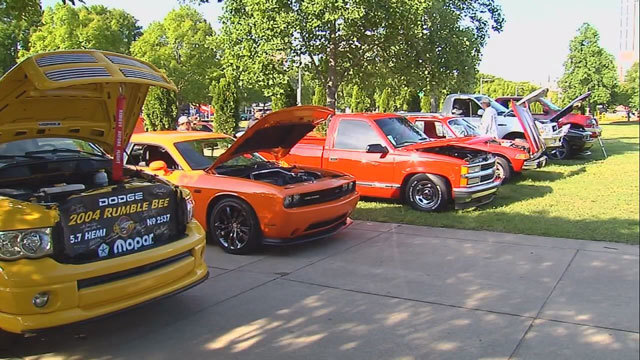 People From Around The World Flock To Nashville For Car Show - Nashville car show