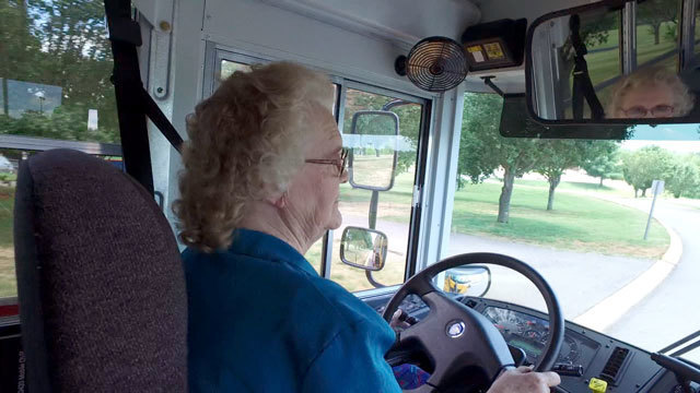 85-year-old about to enter 47th year driving school bus for.