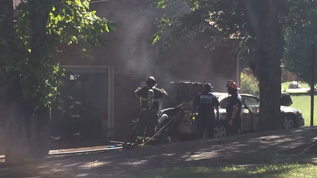 Nashville firefighters respond to car, house fire