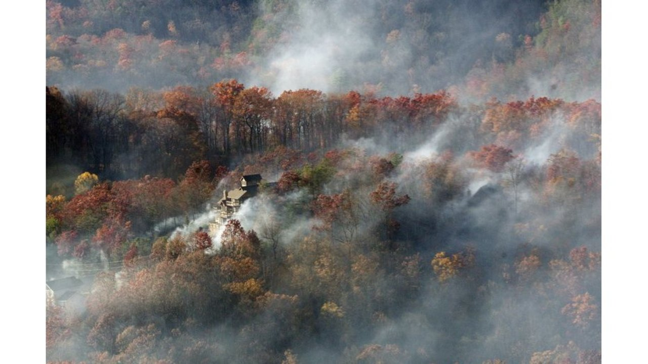 Interactive Map Of Gatlinburg Wildfire Shows Status Of Structures