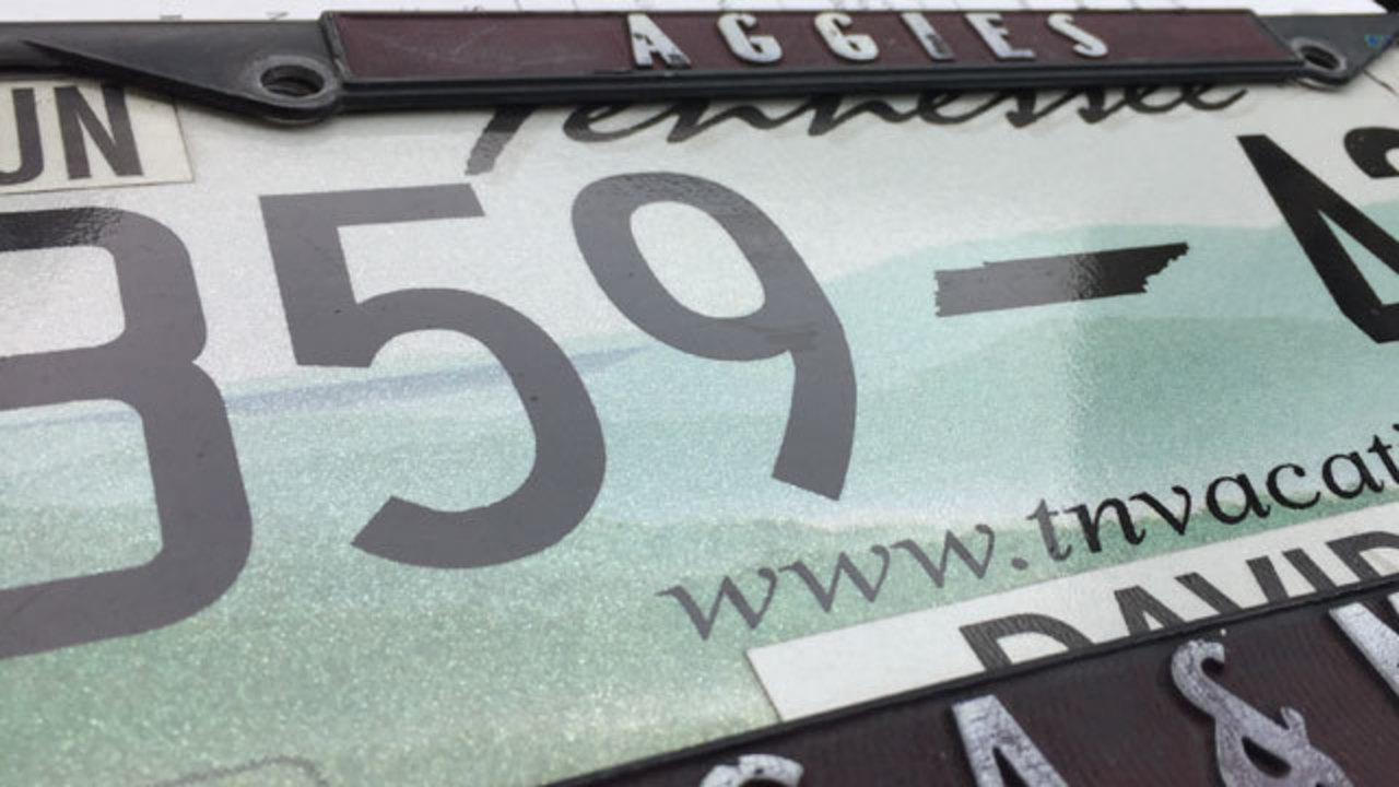 Police warn drivers to keep eye on license plates after recent thefts