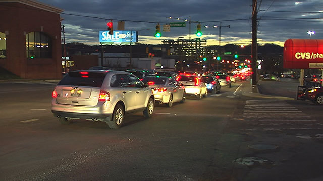 New traffic study ranks Nashville's traffic among worst 25 in country