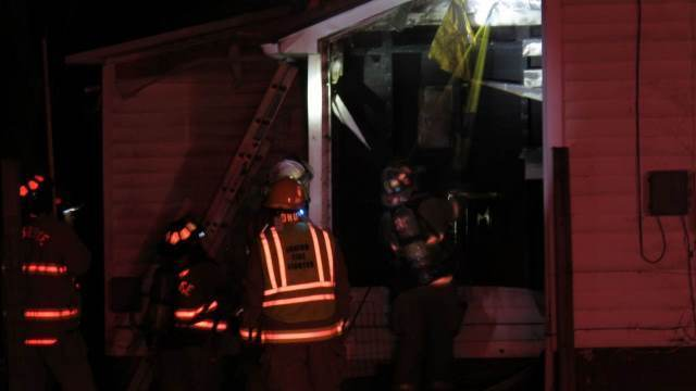 firefighters family loses home and christmas gifts in house fire