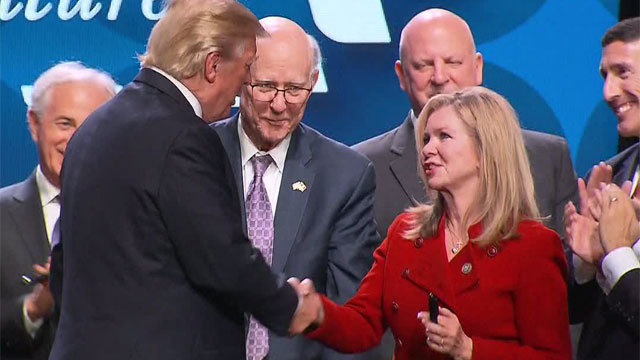 Trump to campaign for Marsha Blackburn in Nashville later this month