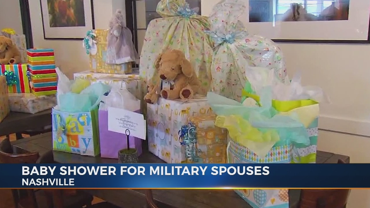 Preds Foundation Hosts Baby Shower For Military Spouses