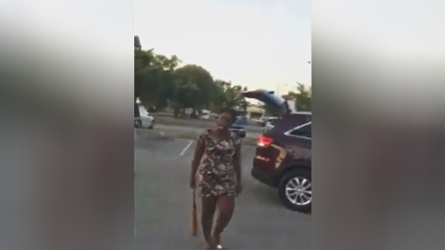 Woman injured after being hit by baseball bat during road rage incident