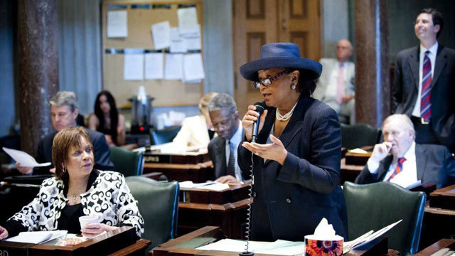 Thelma Harper to leave Senate after nearly 40 years