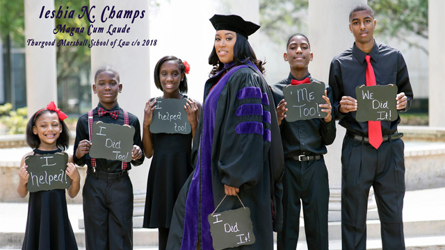 Single Mom Of 5 Graduates From Law School With An Inspiring Story
