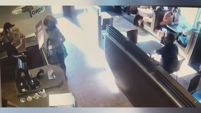 VIDEO: Woman throws poop at employee who denied her restroom access