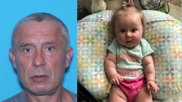 AMBER Alert issued for baby girl; Sex offender suspected in gas station attack, abduction