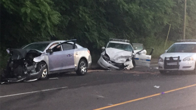Metro officer injured in head-on crash; driver charged