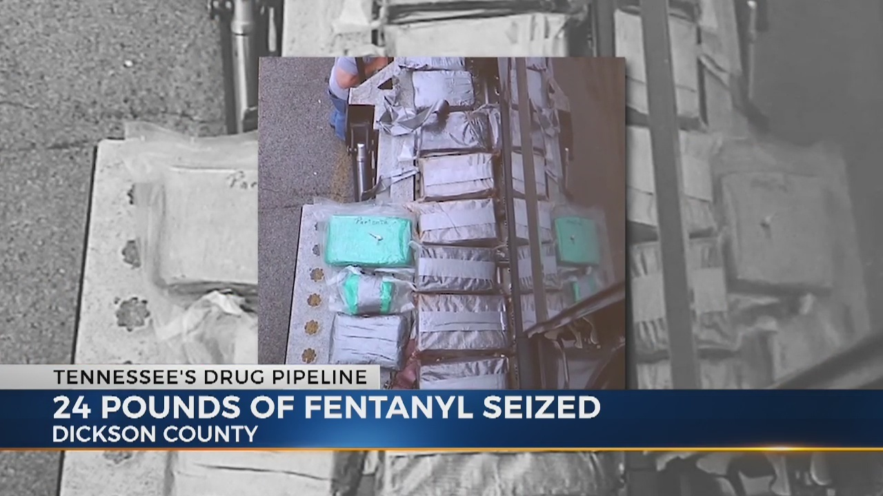 Drug bust leads to seizure of more than 20 pounds of Fentanyl