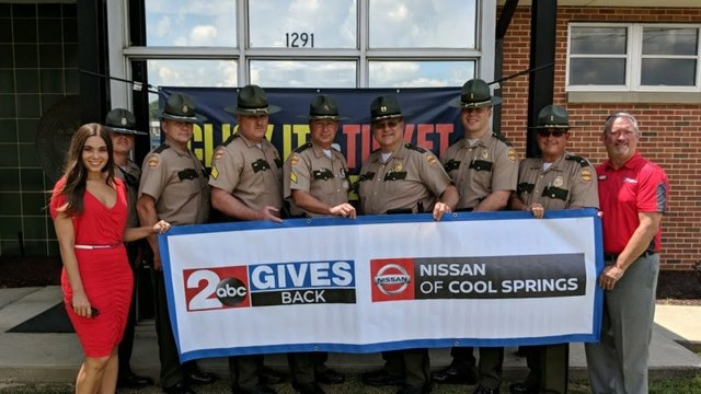 2 Gives Back: Cookeville district of the Tennessee Highway Patrol