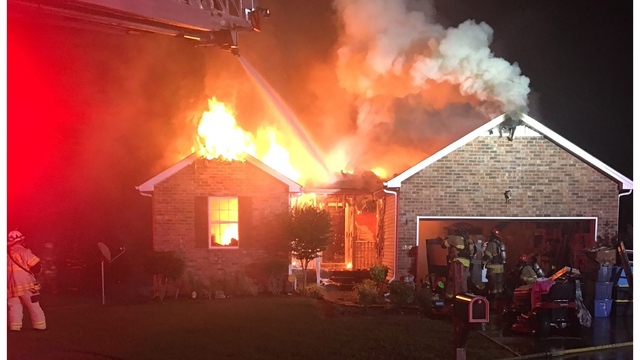 House fire displaces three Murfreesboro residents