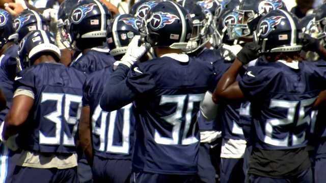 TIMES UP Titans Players Fight For Roster Spots As Cut Day Approaches