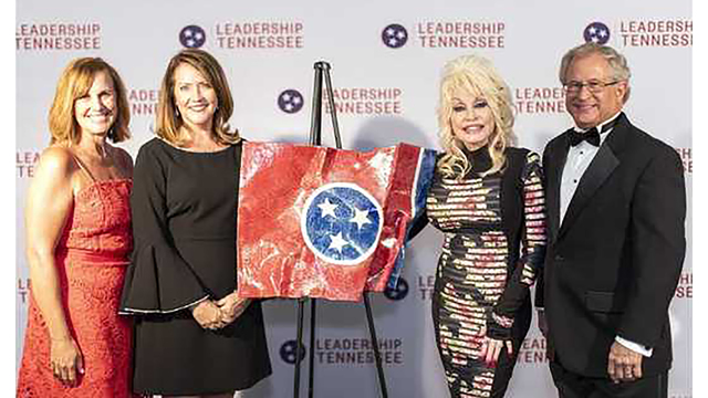 Dolly Parton presented with first ever Excellence in Leadership Award