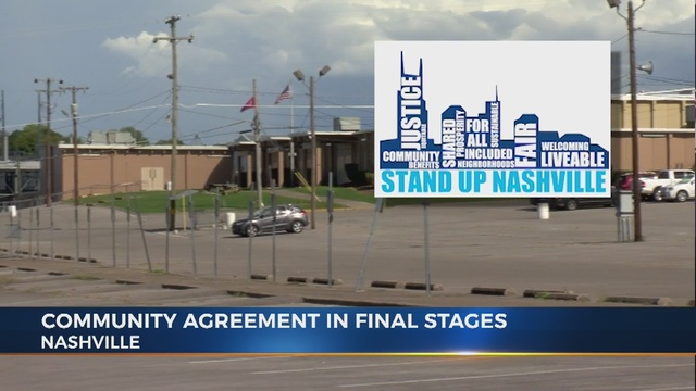 Community Benefits Agreement Nears Completion
