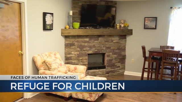Tennessee's only safe house for child sex slaves helps young victims recover