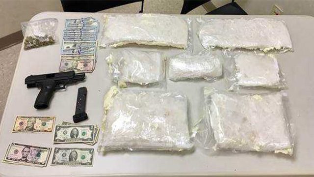 18 pounds of meth seized in drug bust; 2 brothers charged