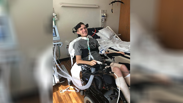 Houston Co. H.S. football player who suffered spinal injury celebrates 18th birthday