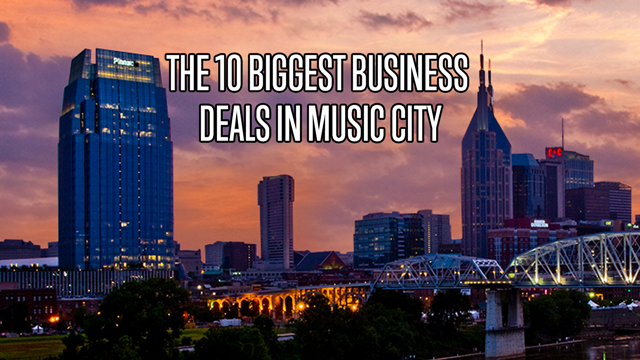 10 biggest business deals in Middle Tennessee