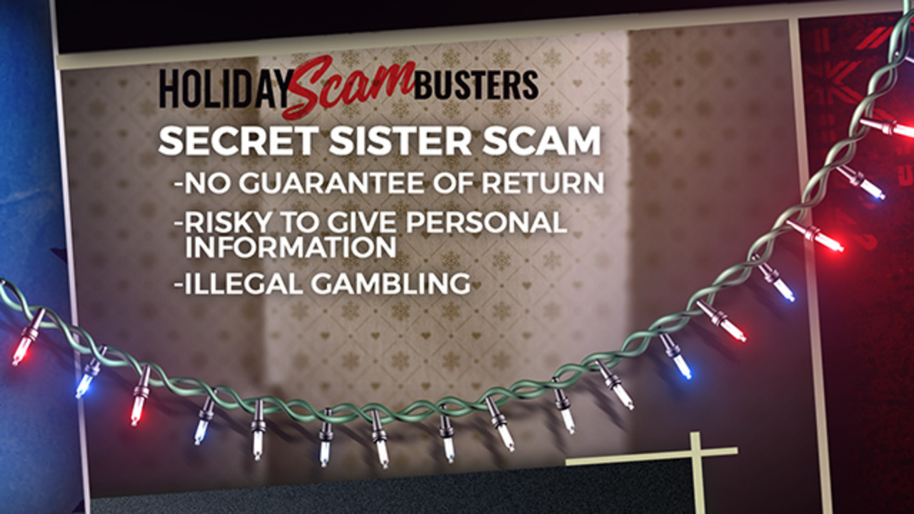 Secret sister gift exchange is back–and it's still a scam