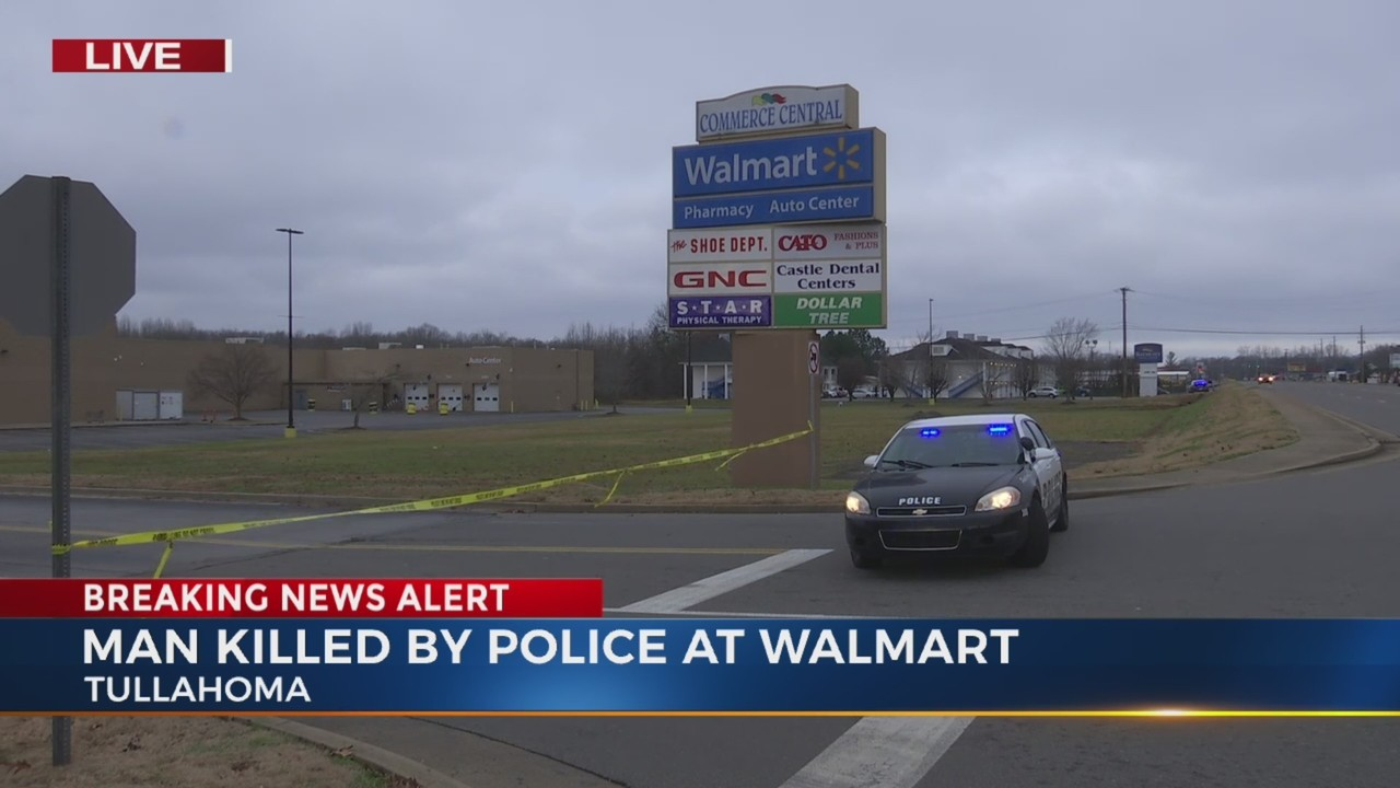 1 Dead In Officer Involved Shooting At Tullahoma Walmart
