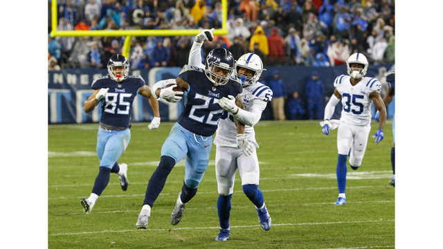 Titans Derrick Henry named AFC Offensive Player of the Month