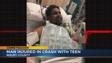 Teen allegedly fleeing police severely injures Columbia man in head-on collision