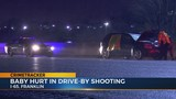 Baby injured after shot fired into vehicle on I-65