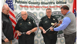 Sword hidden in cane among weapons seized at Putnam County Justice Center