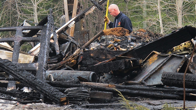Man dies after going into burning house to save dog