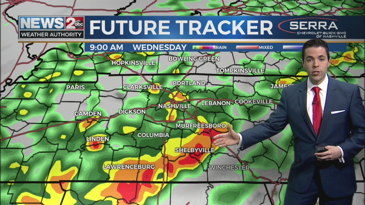 Flooding a concern today, severe storms this weekend