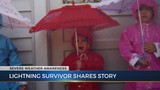 Woman details side effects of being struck by lightning