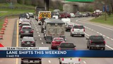 More lane shifts, rubblization to come for I-440 project