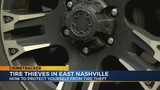 East Nashville man has tires stolen, car left on jack