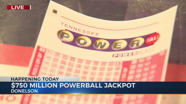 $750M Powerball drawing would be 4th-largest US jackpot