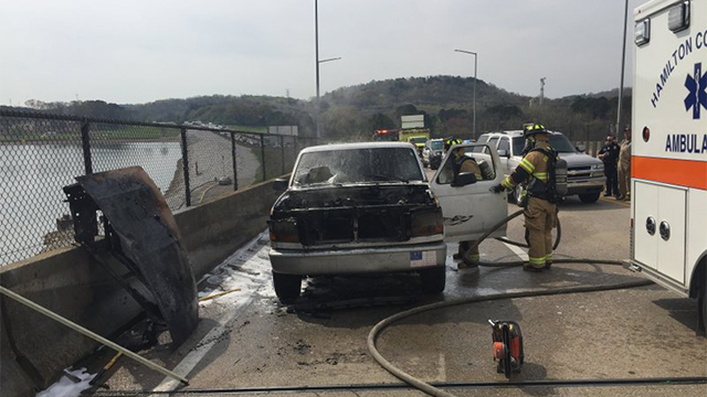 Fire comes to Chattanooga firefighters responding to medical emergency