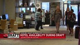 Downtown Nashville hotels nearly full for Draft weekend