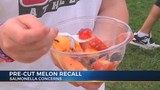 Pre-cut melon linked to US salmonella outbreak recalled in Tennessee and Kentucky