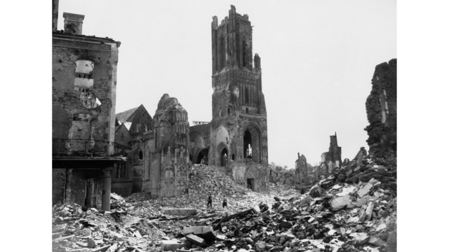 WWII France St. Lo Damage_1555352735986
