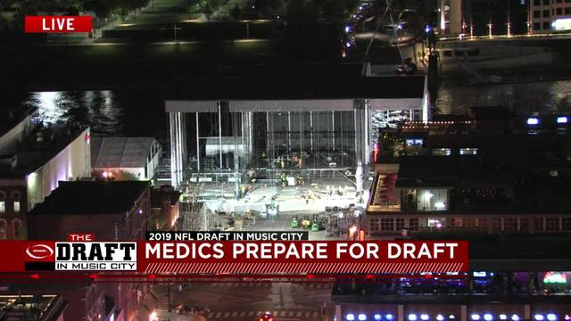 NFL Draft safety plan includes medics and ambulances standing by