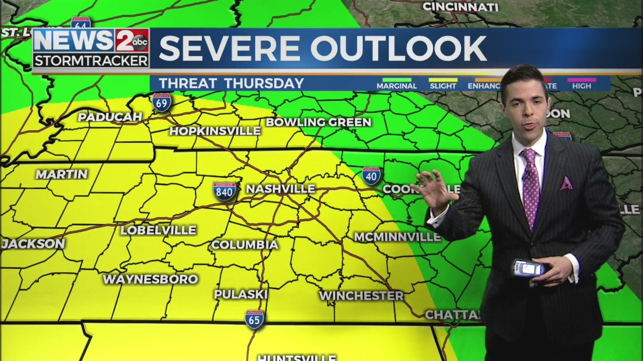 Severe threat Thursday