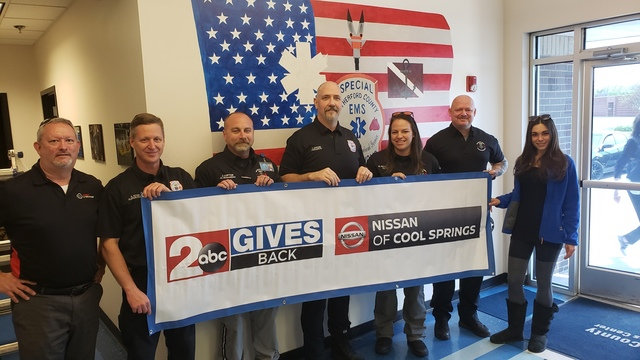 2 Gives Back visits Rutherford County Fire & Rescue Special Ops & EMS