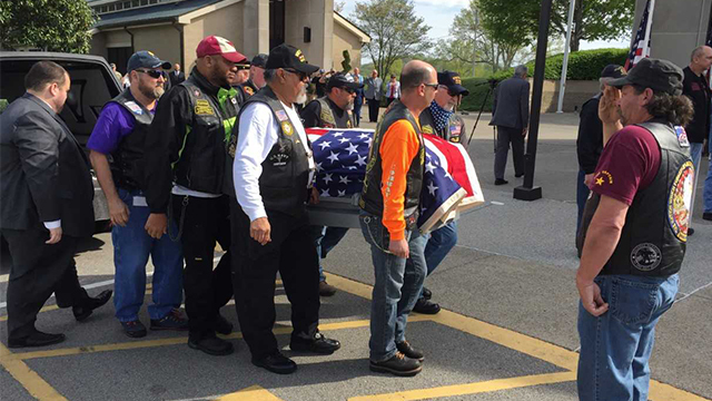 Community packs funeral for Murfreesboro veteran without family