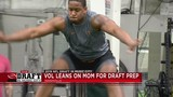 NFL draft prospect leans on mom through process